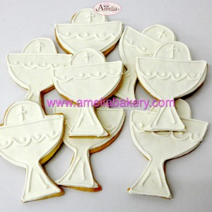 Galletas comunion caliz | Amelia Bakery