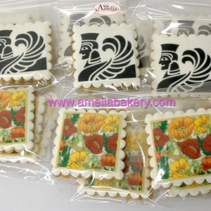 Galletas corporativas FreyWille con logo