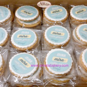 Galletas corporativas mr. wonderfull | Amelia Bakery