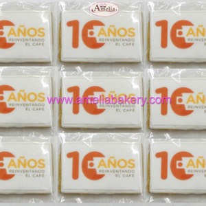 Galletas corporativas Nestle | Amelia Bakery