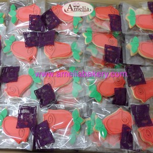 Galletas Sant Jordi corporativas www.ameliabakery.com