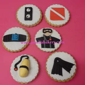 Galletas-decoradas-fondant-buzos-buceo-submarinismo -amelia-bakery_water