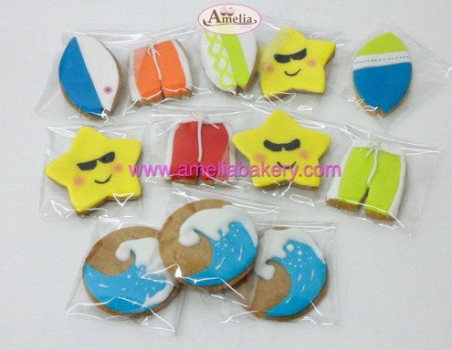 Galletas fondant de surf | Amelia Bakery