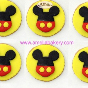 Galletas mickey mouse | Amelia Bakery
