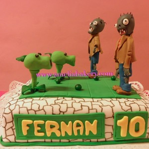 Pastel-tarta-decorado-fondant-plants-vs-zombies-amelia-bakery_water