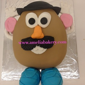 Pastel-tarta-decorado-fondant-Mr.Potato-amelia-bakery_water