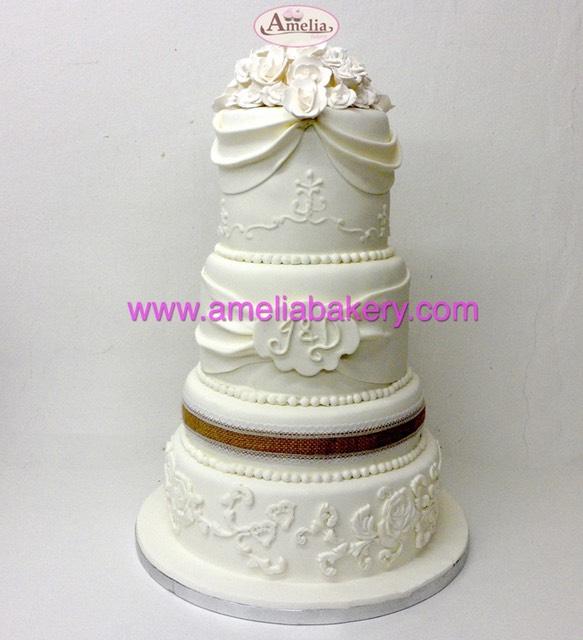 Pasteles de boda con ideas originales e irresistibles solo