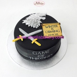 Tarta game of thrones juego de tronos | Amelia Bakery