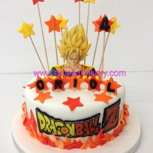 Tarta Goku Dragon Ball Z  www.ameliabakery.com