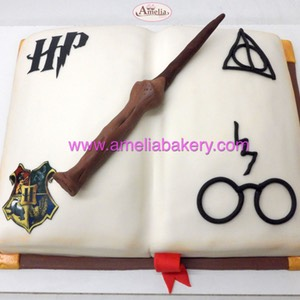Tarta Harry Potter Fondant 2 www.ameliabakery.com
