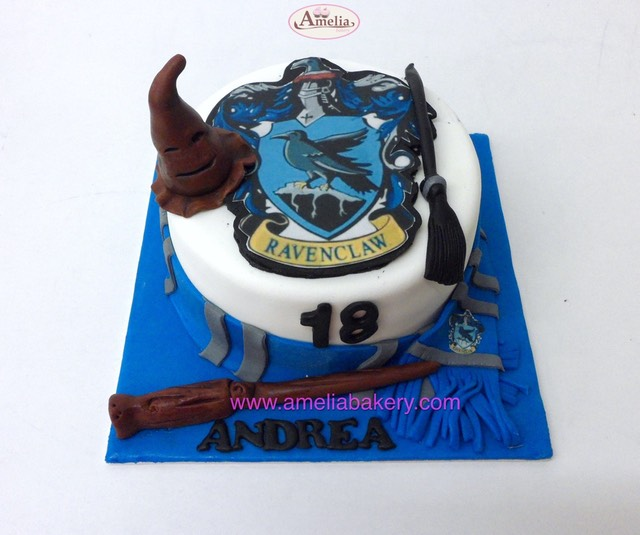 Tarta Harry Potter Ravenclaw | Amelia Bakery