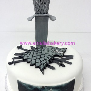 Tarta juego de tronos game of thrones www.ameliabakery.com
