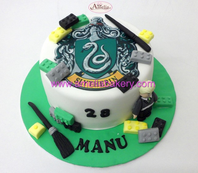 Tarta lego harry potter slytherin | Amelia Bakery