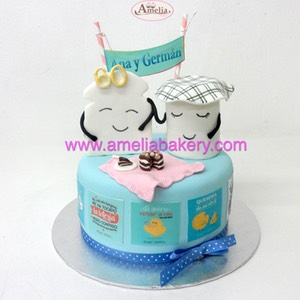 Tarta Mister wonderfull 2 | Amelia Bakery