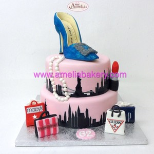 Tarta new york shopping zapato | Amelia Bakery