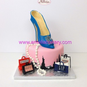 Tarta zapato new york shopping 1 piso manolo blanik | Amelia Bakery